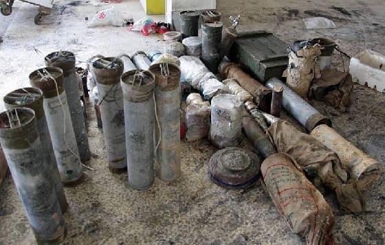 بالفيديوأسلحة وذخائر وأنفاق من مخلفات الإرهابيين في يلدا وببيلا وبيت سحم.