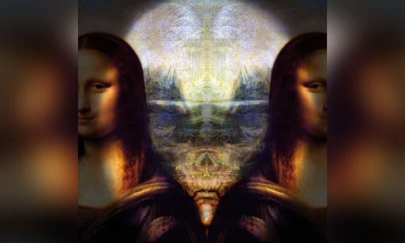 Aliens In The Mona Lisa? | The Crypto Crew Da Vinci Paintings Mirrored