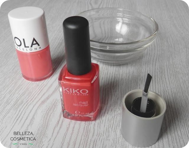 Como mezclar esmaltes de uñas
