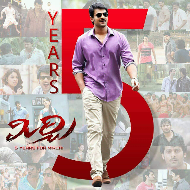 Prabhas-starrer Mirchi completes five years