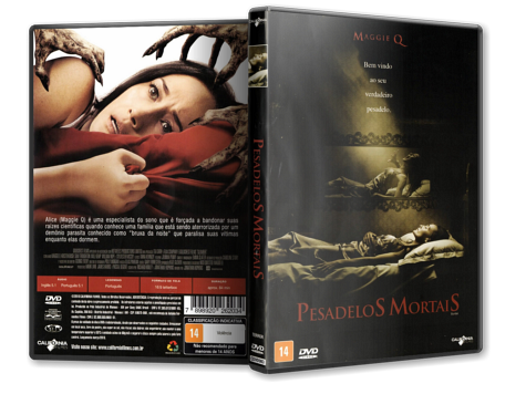 Capa DVD Pesadelos Mortais