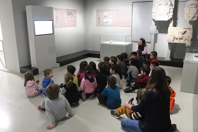 700 μαθητές και εκπαιδευτικοί επισκέφτηκαν το Βυζαντινό Μουσείο Αργολίδας τους δυο πρώτους μήνες του 2018