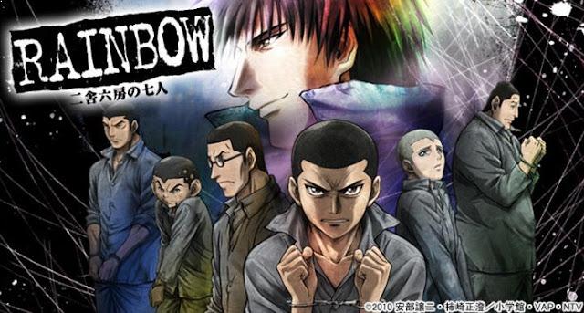 Anime Bagus Underrated  yang Jarang Ditonton/Direkomendasi - Rainbow: Nisha Rokubou no Shichinin