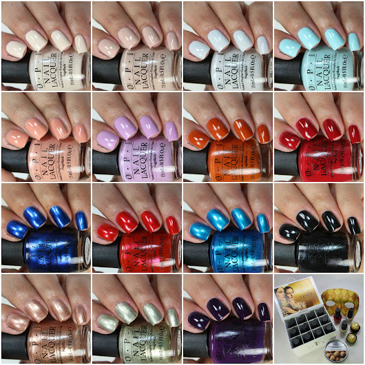 OPI Venice Collection, Swatches and Review