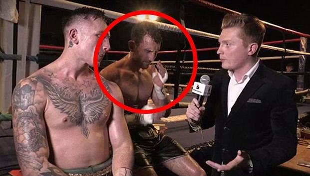 Ganó el combate, dio una entrevista y murió