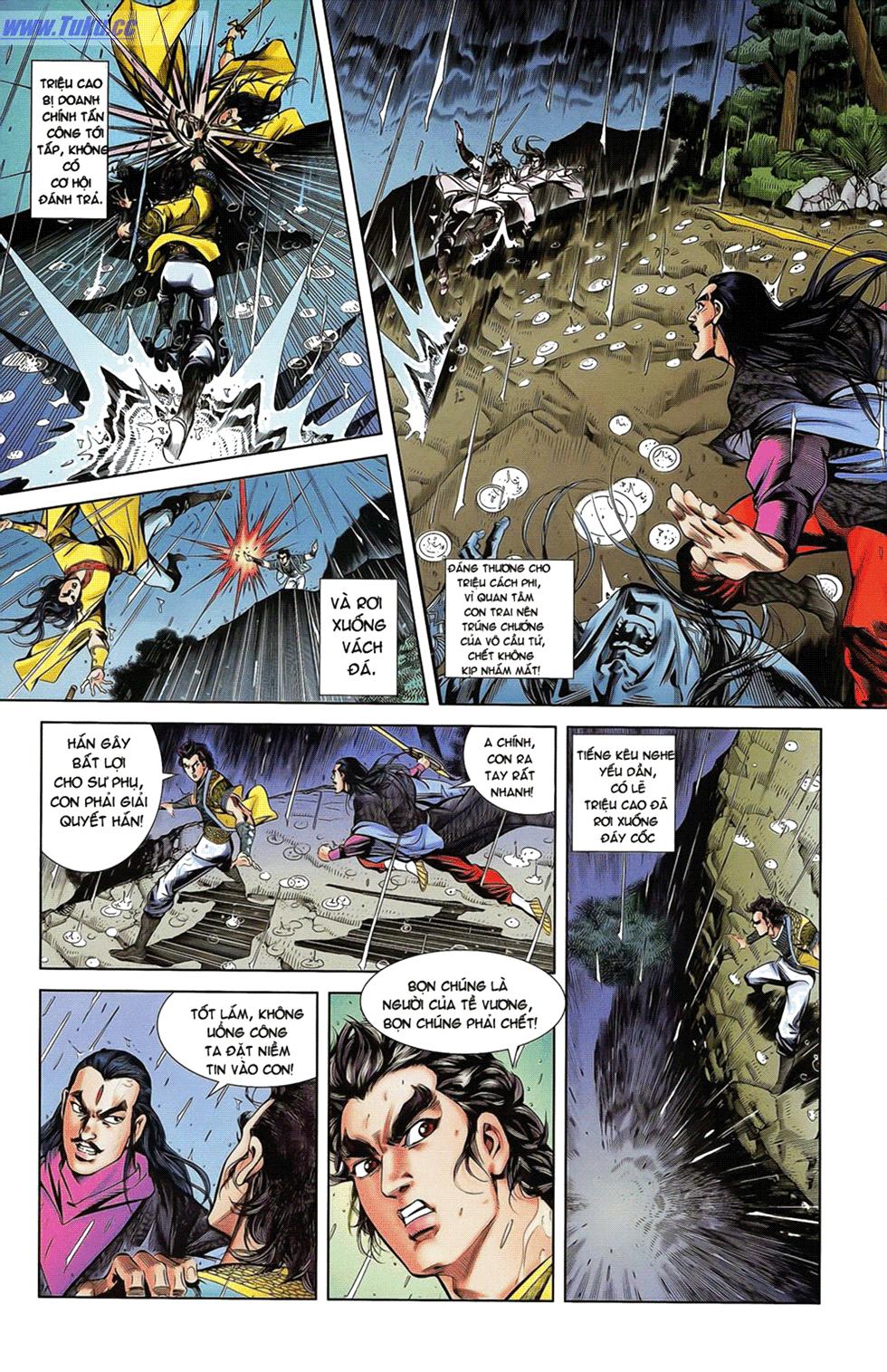 Tần Vương Doanh Chính chapter 18 trang 5