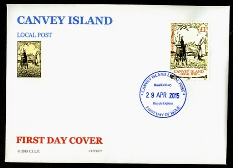 Canvey Island Local Post Chapman Lighthouse First Day Cover