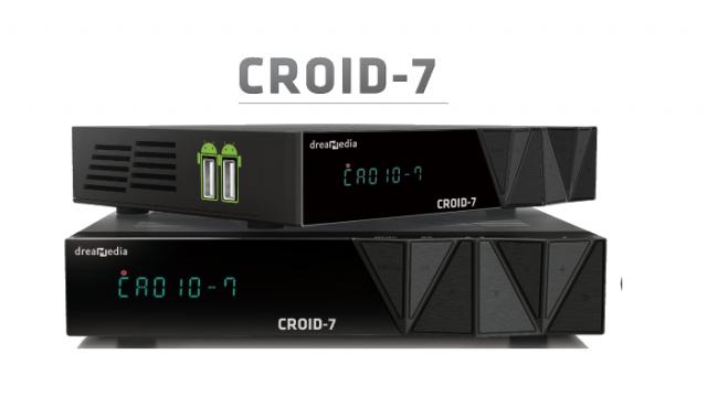 Dreamedia Croid-7 Atualização para liberação do Android