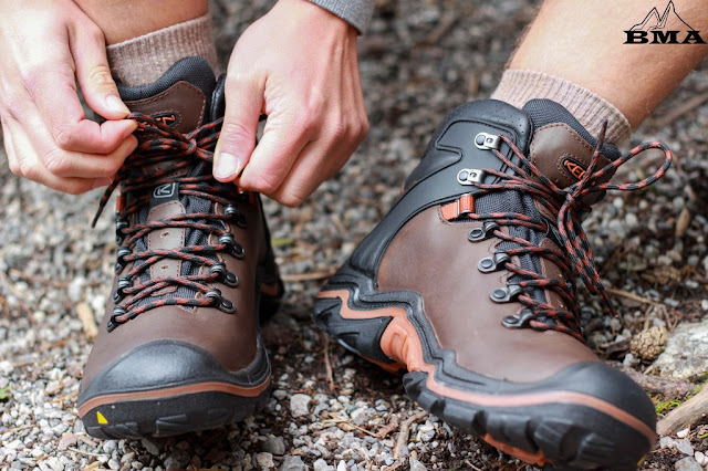 wandern Equipment outdoor Blog Wanderschuh Test KEEN Liberty Ridge EU kaufen BMA