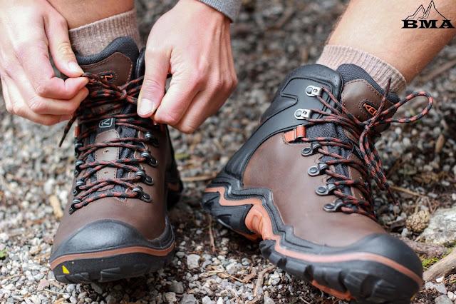 wandern Equipment outdoor Blog Wanderschuh Test KEEN Liberty Ridge EU kaufen BMA
