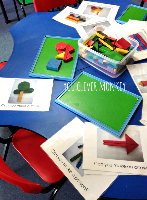 Block Prompt - Why Block Play is Important and How to Promote It - How to encourage block play in Early Childhood - there are so many reasons why it is important to encourage block play in early childhood, in this post I share some of these reasons along with some easy to make challenge cards to prompt play   you clever monkey