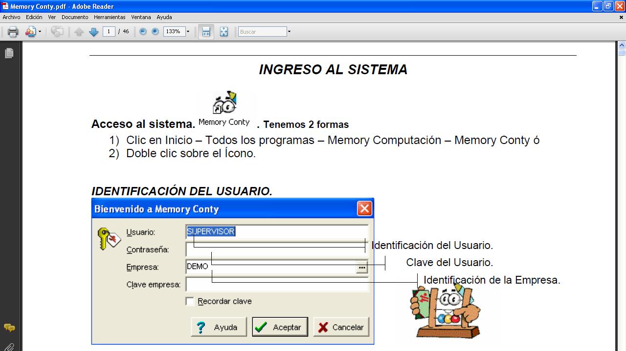 programa memory conty