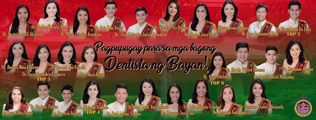 Congratulations to our New Dentists!