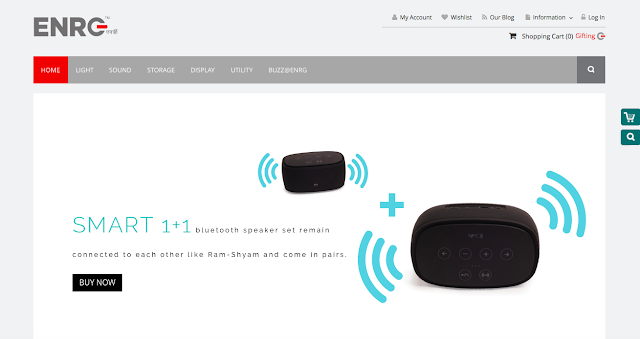 ENRG relaunches its E-commerce Store for better buying experience