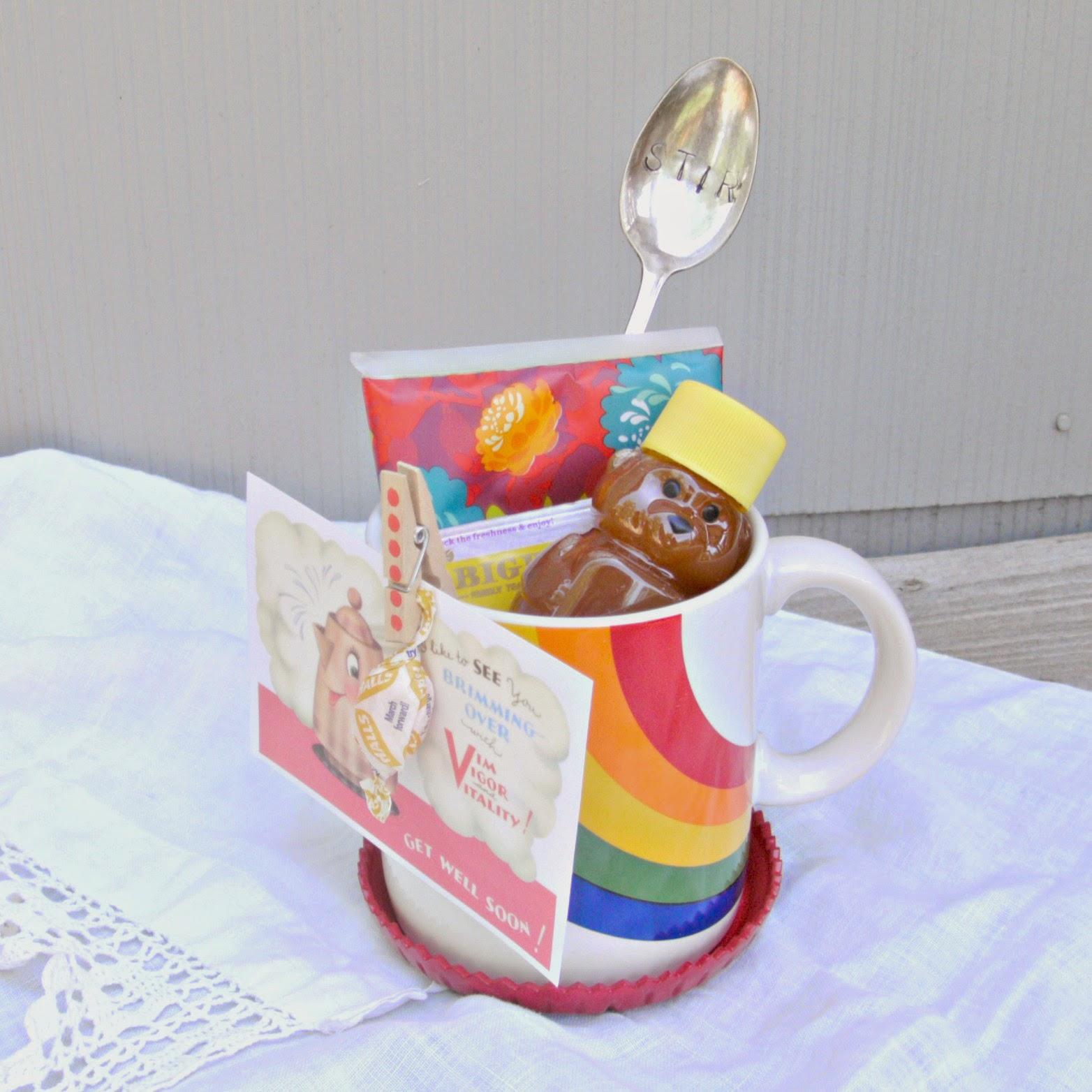 Mug Cake Honey