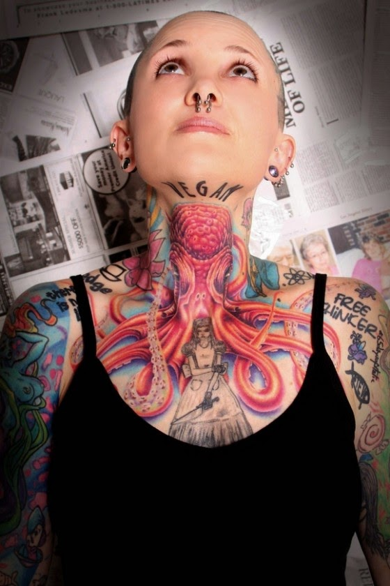 792129cf8 Awesome Neck Tattoo Design Collection