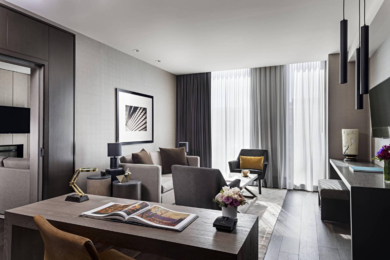 Nội thất phòng khách căn hộ mẫu Xuân Mai Tower Thanh Hoá