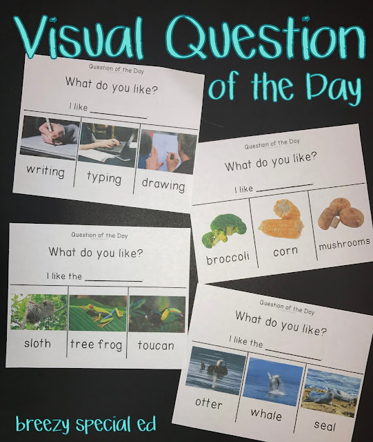 Why you should incorporate daily questions into your special education morning meeting.