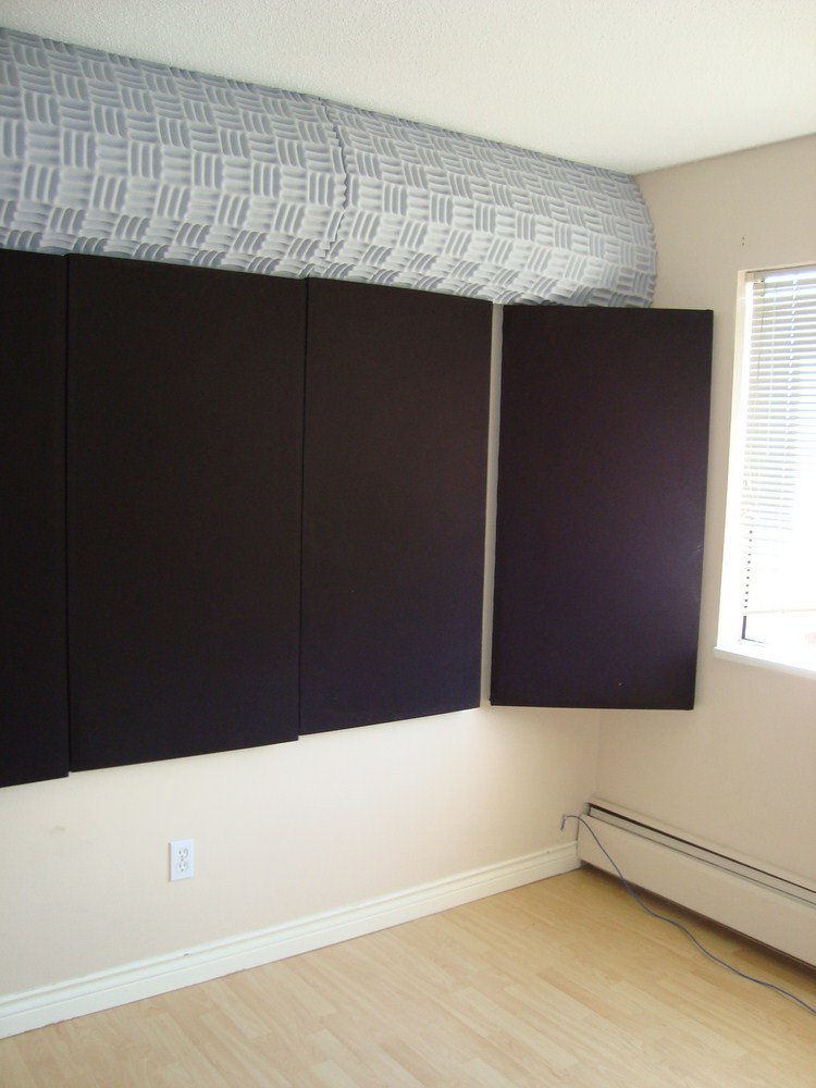 Studio audio geek zine - Bedroom studio acoustic treatment ...