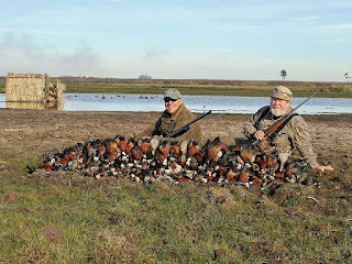 duck hunting in uruguay with ramsey russell's getducks.com