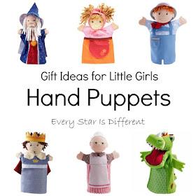 Hand Puppet Gift Ideas for Little Girls