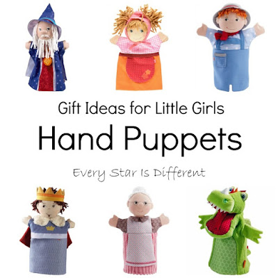 Hand Puppet Gift Ideas for Little Girls
