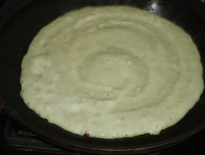 spread rava dosa for rava dosa recipe