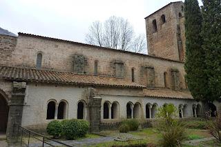 Claustro de la Abadía de Gellone, Saint Guilhem le Désert.