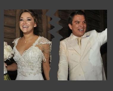 Firma Sherlyn acta de divorcio... Islas a volar