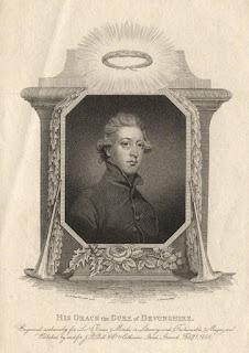William Cavendish, 5th Duke of Devonshire  after Sir Joshua Reynolds    stipple engraving pubd 1808    NPG D13723 © National Portrait Gallery, London
