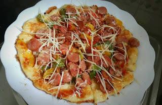 Roti Pizza Sederhana