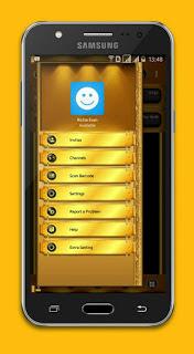 BBM Black Gold Angelic Versi 3.2.5.12 Apk
