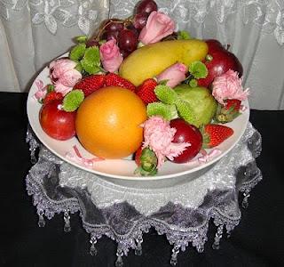 Tips Gubahan Hantaran Buah-buahan