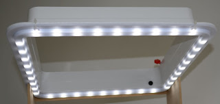 RV Chandelier LED Light Garnish Ring 12 volt Heng's classacustoms