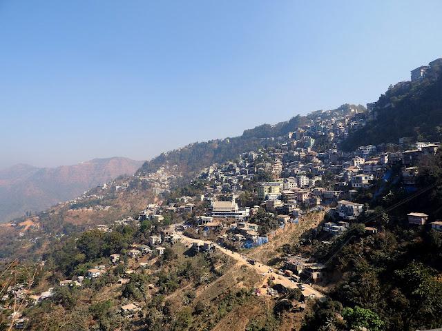 Aizawl, Mizoram, hills, northeast, India, Mizo