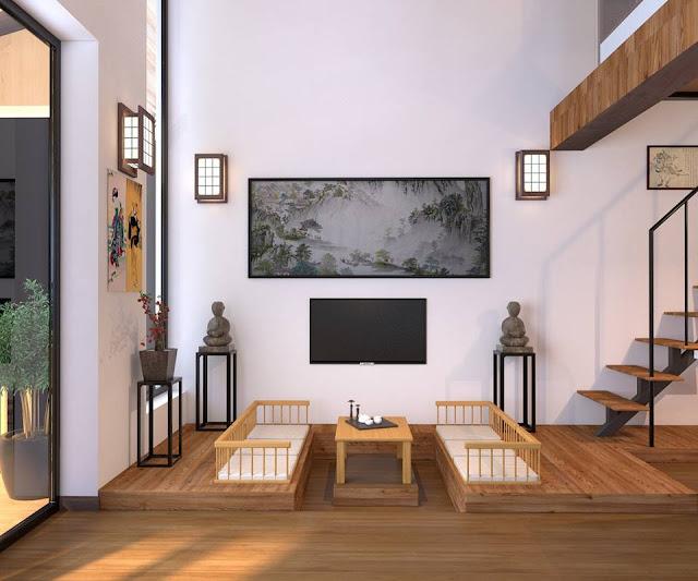 Mẫu phòng khách Ohara Villa