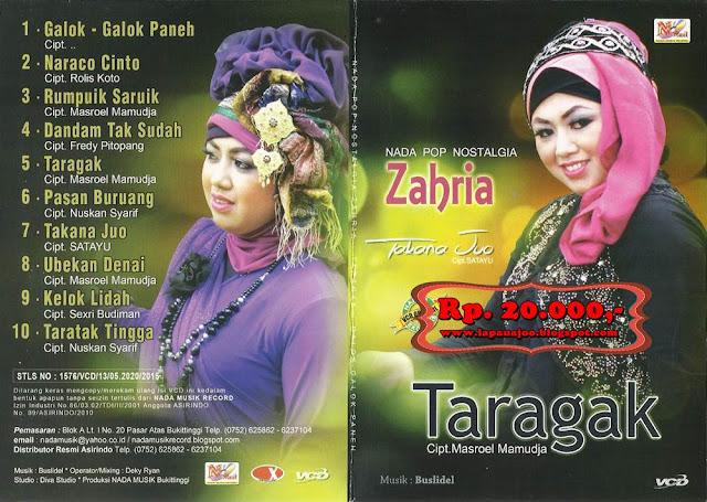 Zahria - Taragak (Album Nada Pop Nostalgia)
