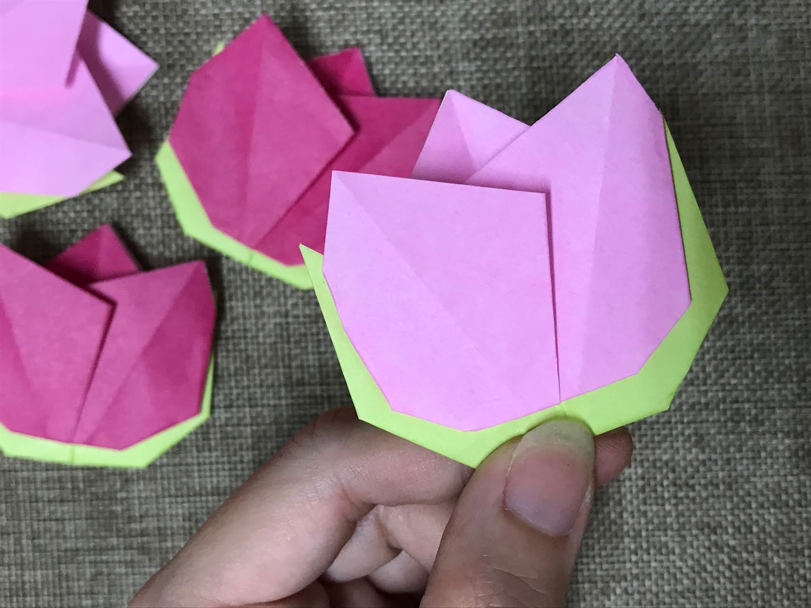 origami chinese new year decorations