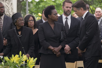 Widows 2018 movie still Viola Davis Colin Farrell