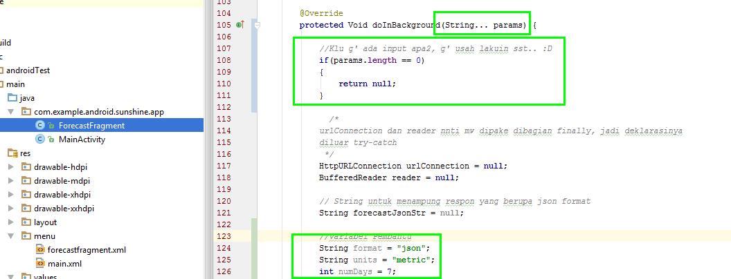 Dimensi TutupBotol: Postal Code Param - Udacity Intermediate Android