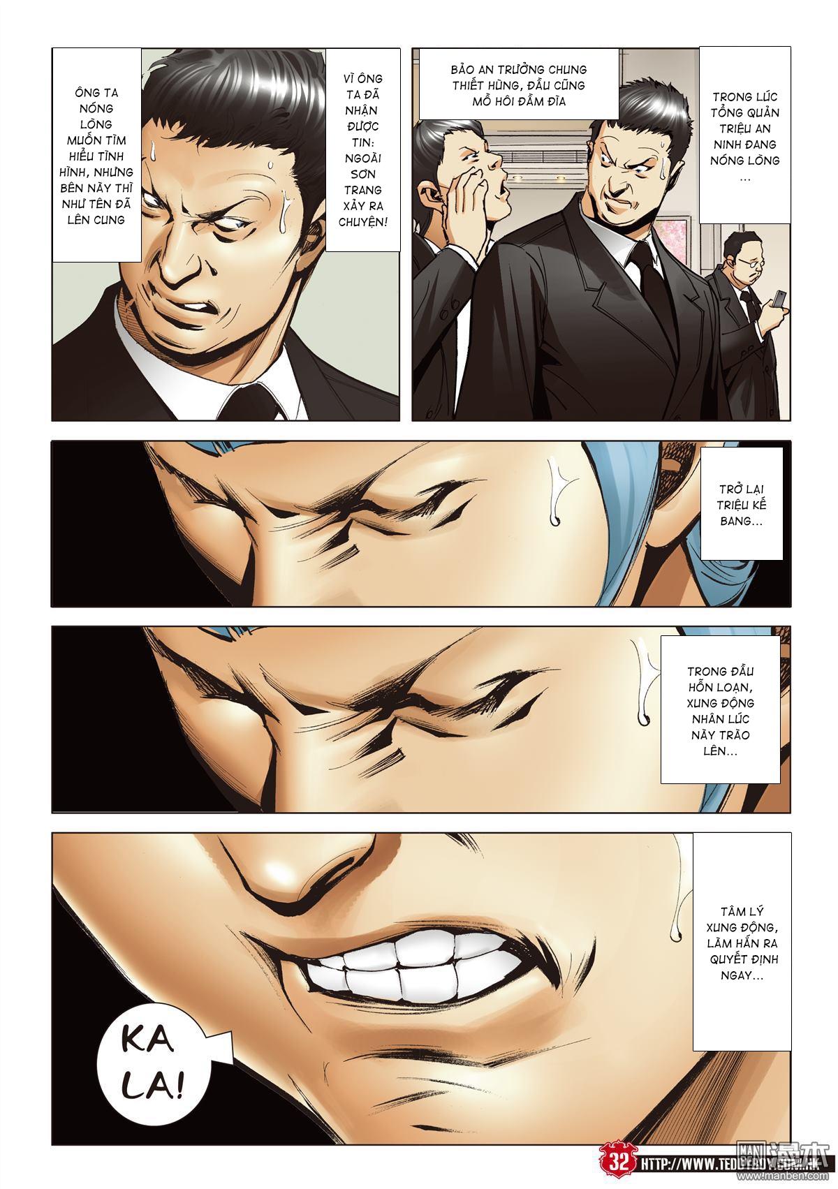 Người Trong Giang Hồ chapter 2067: ánh tỉ làm phản trang 29