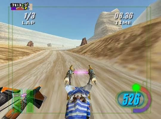 Mundo Retrogaming Star Wars Episode I Racer Nintendo 64