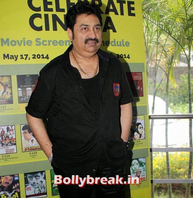 Kumar Sanu, Vidya Balan, Rekha ji at Inauguration of Celebrate Cinema Festival Events