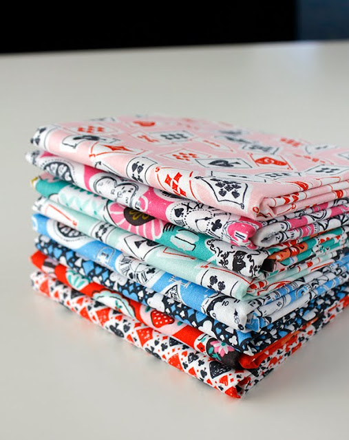 Wonderland fat quarter bundle Blend Fabrics