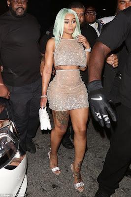 Blac Chyna resumes duties at strip club - AdeLove.com Best