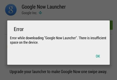 "How to Fix ""Insufficient Space Downloading Error"" On Android 2016"