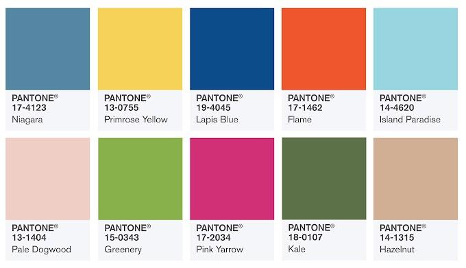 Biquínis nas cores do verão - 2018