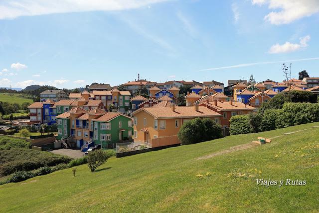 Urbanización de Xivares, Asturias