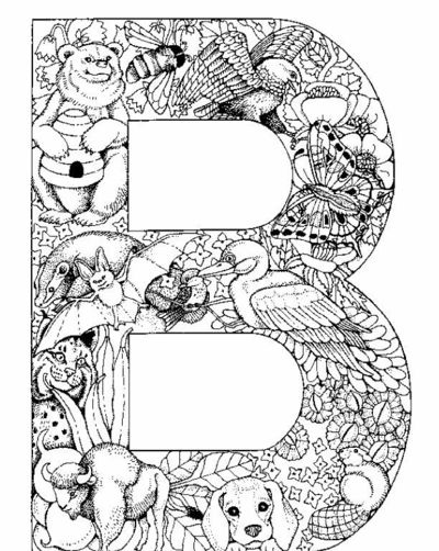 j coloring pages for older kids | Coloring Pages For Older Kids Printable Free ~ Top ...