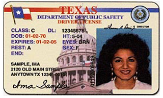 Image result for Texas drivers license black female